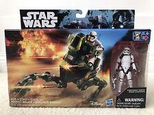 Star Wars Rebels:  Stormtrooper Sergeant Action Figure with Assault Walker. NIB