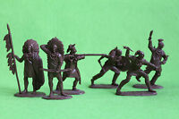 Indians set  Plastic Toy Soldiers set 1/32 54mm exclusive