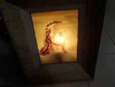 LIGHTED JESUS PICTURE WALL LIGHT