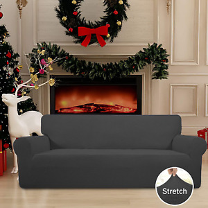 Sofa Slip Covers Stretch Couch Furniture Protector Soft Elastic Bottom Spandex
