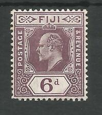 FIGI SG121 THE 1910 EVII 6d DULL PURPLE FINE AND VERY FRESH MINT CAT £28