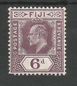 FIGI SG121 THE 1910 EVII 6d DULL PURPLE FINE AND VERY FRESH MINT CAT £28