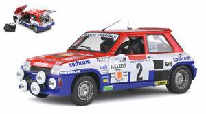 Miniature voiture Rally auto 1:18 solido Renault 5 Turbo R5 Modélisme Rally Neuf