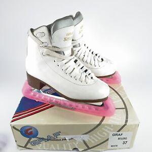 Graf Bolero Ice Skates - white - Size 37 (UK 4) With Box