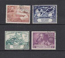 PITCAIRN ISLANDS: 1949 UPU SG 13/16, very fine used.