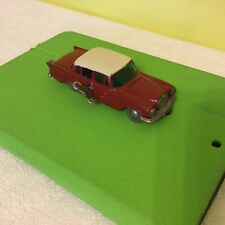 VINTAGE  WORKING SCHUCO MICRO RACER 1038 MERCEDS 220S WIND-UP 1960S WESTER GERMA