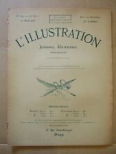 L'ILLUSTRATION 12 AOUT 1905 N° 3259 CUIRASSE MASSENA. FETE VIGNERONS a VEVEY