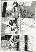 LA LOUVE WEEKEND A PEKIN  (RENAUD) PLANCHE ORIGINALE AREDIT PAGE 78