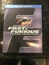Fast and Furious 7-Movie Collection (Blu-ray Disc, 2016, 8-Disc Set)