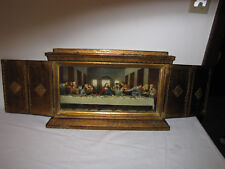 Last Supper Mantel / Wall Hanging Art by Florentia Hand Made in Italy
