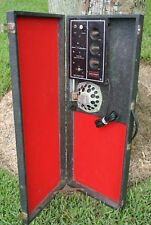 1960's Silvertone 1448 Amp Amplifier built into Guitar Case! Lot #D85