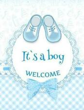 It's a Boy Welcome: Baby Shower Guest Book Sign In/Guest Registry with Gift...