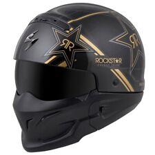 Scorpion encubierto Estrella De Rock | versátil casco de 3 en 1 | Casco Medio & 3/4