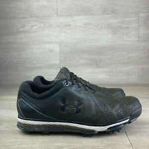 Under Armour Tempo Tour Golf Shoes Spikes 1270205-011 Size 9