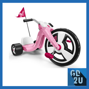 Front Wheel Bike Kids Big Chopper Tricycle Adjustable Seat Sports Toy Pink 16""