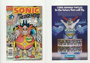 Sonic The Hedgehog #15 NM (Archie, 1994) Signed By Harvey Mercadoocasio