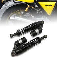 "2pcs Motorcycle 320mm 12.5"" Rear Shock Absorbers Gas Damper For Honda Black"