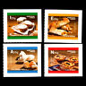 Portugal 2017 - Traditional Desserts of Portugal Foot Gastronomy Adhesive - MNH