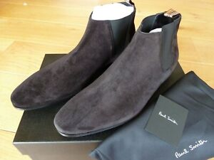 Paul Smith Suede Chelsea Boots MARLOW Black : NEW & BOXED