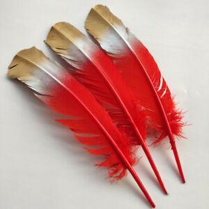 Wholesale 10-100pcs Pretty 12 Colors Natural Turkey Feathers 10-12inch/25-30cm