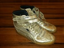 PUMA Women's Sky HI II Metallic Sneaker, Metallic/Gold, US Sz 9 Shoes