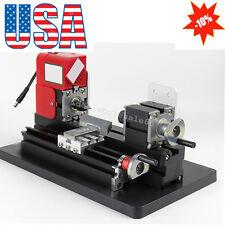 Wood Working Lathe Motorized Machine DIY Tool Multi-use 20000rpm/min Student Use
