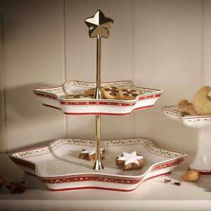 VILLEROY & BOCH Winter Bakery Delight Etagere Etagenständer Ilex Servierplatte