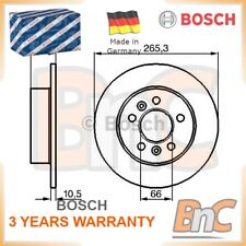 2x BOSCH REAR BRAKE DISC SET RENAULT OEM 0986478305 6025370406