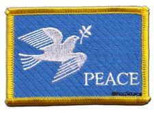 Friedenstaube Aufnäher Flaggen Fahnen Patch Aufbügler 8x6cm