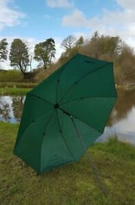 """98"""" 2.5m BISON TOP TILT FISHING UMBRELLA BROLLY SHELTER WITH TAPED SEEMS"""