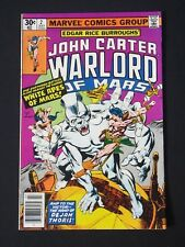John Carter Warlord of Mars #2 1977  NM-  High Grade Marvel Comic