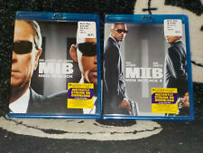 Men In Black 1 & 2 New Sealed Blu Ray +Digital Will Smith Free Shipping