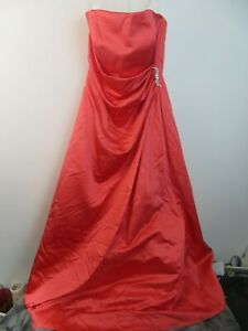 Davids Bridal Guava Evening Gown Formal Dress Size 12 Style 20061442