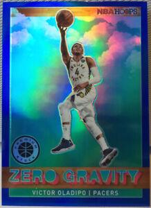 Victor Oladipo Zero Gravity Blue Prizm #14 NBA Hoops Premium Stock 2020