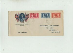 Niue 1937 FDC  Coronation issue   good condition