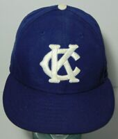 FITTED 7 1/4 NEW ERA 59FIFTY KANSAS CITY MONARCHS NEGRO LEAGUES BASEBALL HAT CAP