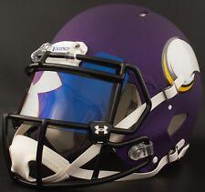 ***CUSTOM*** MINNESOTA VIKINGS Full Size NFL Riddell SPEED Football Helmet