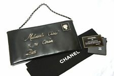 CHANEL Envelope Mademoiselle COCO Mark Clutch Shoulder Bag A527