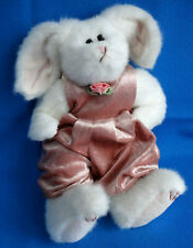 "vintage ""93 Sara Bunny Rabbit soft toy Poseable Ty Attic Treasure Beanie Buddies"