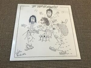 ALBUM LP 10T THE WHO THE WHO BY NUMBERS (NEUF)