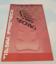 HONDA CBR250  MOTORCYCLE TANK PROTECTOR PAD CLEAR PROTECK MADE IN ITALY
