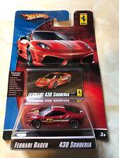 Hot Wheels Ferrari Racer Series 430 Scuderia 1:64  VHTF