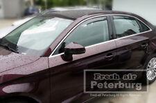 MIT for Audi A3 8V Sedan (4pcs) Window Visor In-Channel Deflector (for 2014-on)