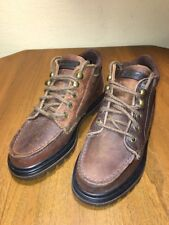 Eastland Boulder Bomber Womens 5.5 M Brown Leather Ankle Shoes Boots New 2885