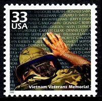USA postfrisch MNH Vietnam Krieg Veteranen Memorial Denkmal Weltkrieg 2000 / 56