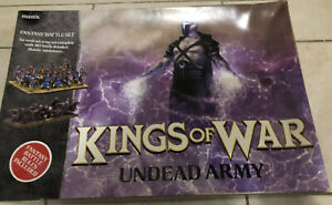 Warhammer Game - Kings Of war undead army