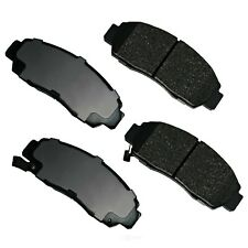 Disc Brake Pad Set-GAS Front Akebono ACT787