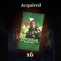 Zendikar Rising 6x Booster Prerelease Code | Magic The Gathering Arena (MTGA)