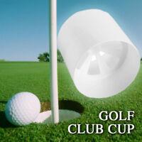 0C69 Plastic Golf Green Hole Cup Backyard Practice Assit Putting Putter Training