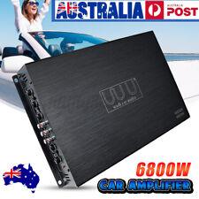 6800W 4 Channel Car Amplifier Audio Bass Class A/B Power Amp Short Protection AU
